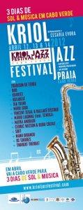 Kriol Jazz Festival affiche 2012