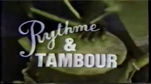 Rythme et tambour